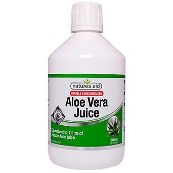 Nature's Aid Aloe Vera Juice - Double Strength 500ml (15510)