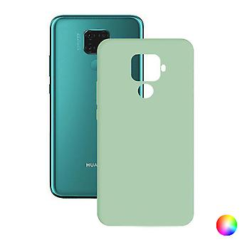 Mobile cover Huawei Mate 30 Lite Contact Silk TPU/Turquoise