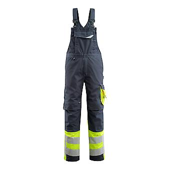 Mascot hi-vis sunderland bib-brace overall 15669-860 - safe supreme, mens -  (colours 2 of 2)