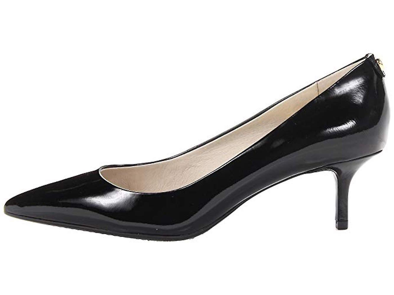 Michael Michael Kors Womens Flex Kitten Leather Pointed Toe Classic Pumps