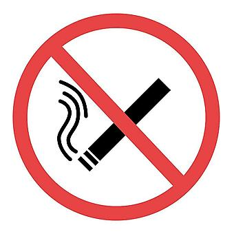 House Nameplate Co No Smoking Symbol Sign
