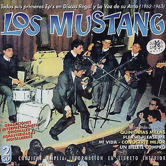 Los Mustang - Todos Sus Primeros Eps Discos Regal [CD] USA import
