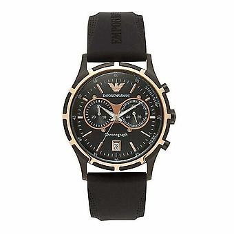 Emporio Armani AR0584 Black Silicon Men's Watch