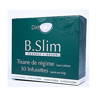 B Slim, Slimming herbal tea 30 infusion bags