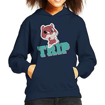 Littlest Pet Shop Trip Kid's Hooded Sweatshirt