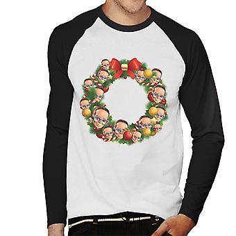 Thunderbirds jul krans Multiface Brains Men's Baseball langærmet T-shirt
