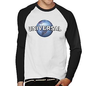 Universal Classic Logo Men's Baseball Long Sleeved T-Shirt