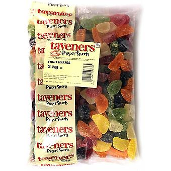 Taveners Fruit Jellies Sweets 3kg