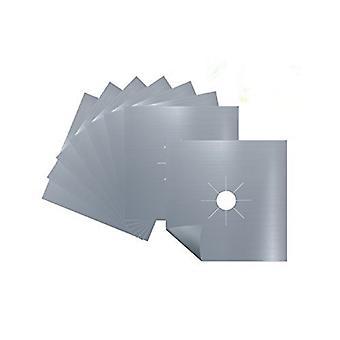 8PCS bucătărie Aragaz Arzător Acoperă Argint