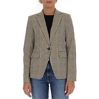 Michael von Michael Kors Mu01eyverf110 Frauen's graue Wolle Blazer