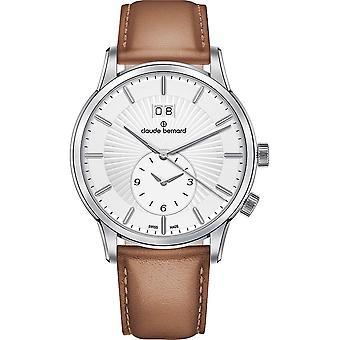 Claude Bernard - Wristwatch - Men - Jolie classique 2 time zone - 62007 3 AIN