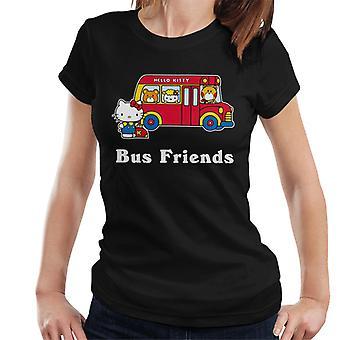 Hello Kitty Buss Venner Kvinner's T-skjorte