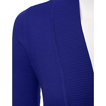LALABEE Women's Open Front Pockets Knit Long Sleeve Sweater Cardigan-RoyalBlu...