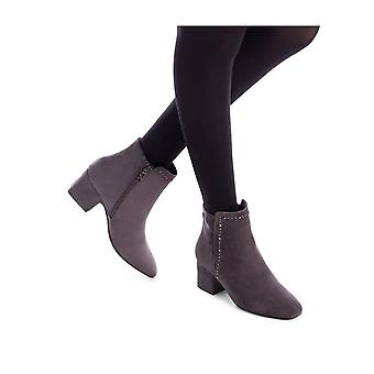 Xti - Shoes - Ankle boots - 35111_GREY - ladies - darkgray - EU 35
