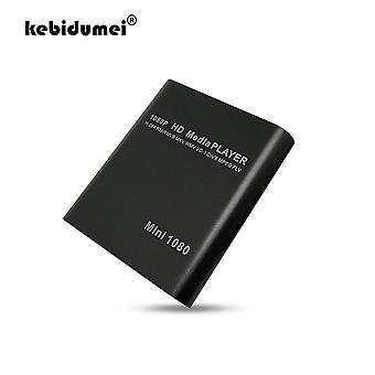 Usb External Media Player Full Hd, 1080p Hdd Multimedia Player With Hdmi Sd