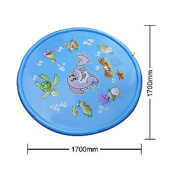 Beach Pad Kids Outdoor Water Spray Beach Mat Lawn Inflatable Fun Sprinkler Cushion Toys Cushion