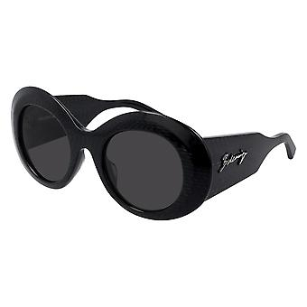 Balenciaga BB0120S 001 Black/Grey Sunglasses