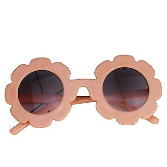 Summer Children Sunflower Sunglasses Frame - Anti-uv Protection Reflective Glasses