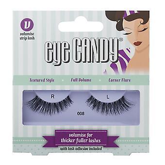 Eye Candy 50's Style False Eyelashes - 008 - Medium Wearable Volume Lashes