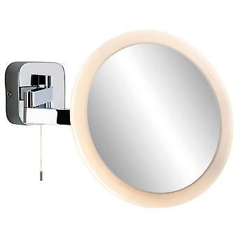 Firstlight Lupe - LED Badezimmer Indoor Wandleuchte Spiegel (Geschaltet) Chrome IP44