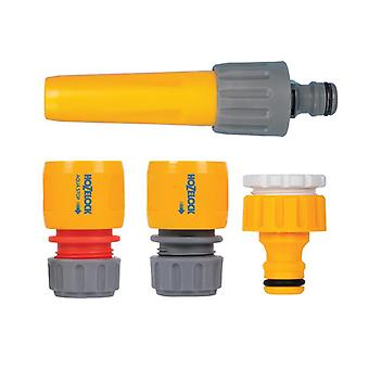 Hozelock 2352 Hose Nozzle & Threaded Tap Starter Set HOZ2352
