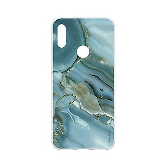 Hull For Huawei Y6s Soft Marble Effect Design