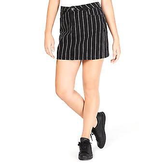 Vanilla Star | Cotton Striped Mini Skirt