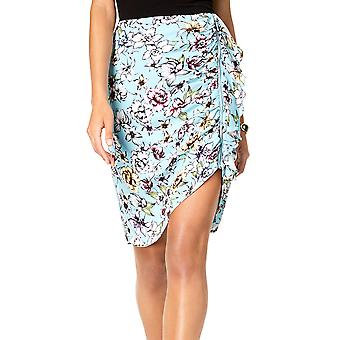 Guess | Dotty Riot Bloom Print Ruched Zipper Skirt