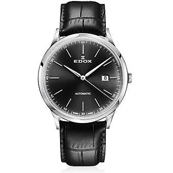 Edox - Relógio de Pulso - Homens - Les Vauberts - Data Automática - 80106 3C NIN