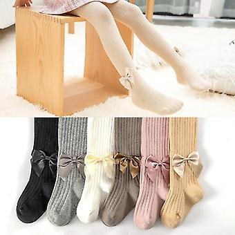 Cute Bowknot Tights For Girls Stockings Soft Breathable