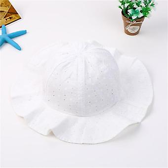 Summer Bucket Hat, Floral And Lace Pattern Cap