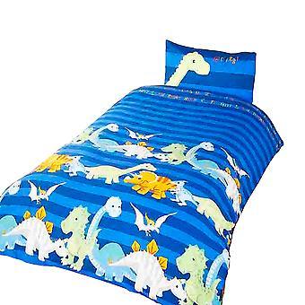 Dinosaurie barn/pojkar påslakan sängkläder
