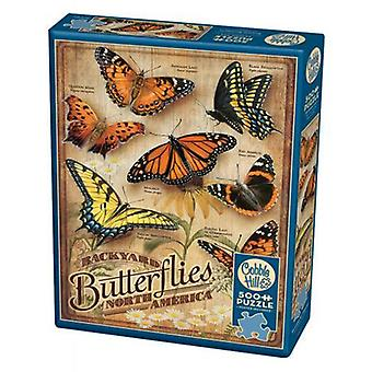 Cobble hill puzzle - backyard butterfly - 1000 pc