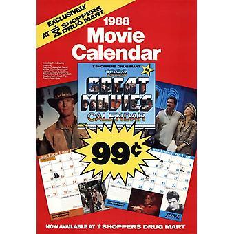 Film-Kalender-Film-Poster (11 x 17)