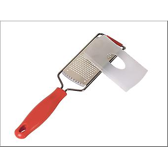 Dexam Grater Stainless Steel Blade Fine Red 17851063