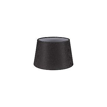 Araminta Ronde, 280/350 x 220mm Stoffentint, houtskoolgrijs/wit laminaat