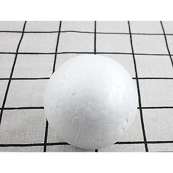 Christmas Ball White Modelling ,polystyrene Foam Craft Ballsnchristmas