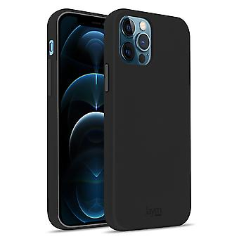 Case Apple iPhone 12 Pro Max Silicone Premium Soft Touch Soft Feeling Jaym black