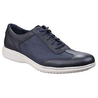 Rockport Dressports Ii Fast Zapatos de Cuero para Hombres Azul Oscuro