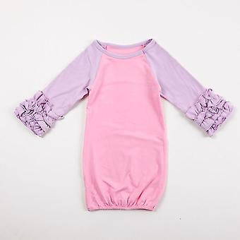 Baby Sleeping Bag, Raglan Ruffle Sleeve Sleep Sack Cotton Clothes