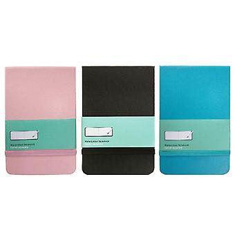 Pu Leather-cover Watercolor Book, Hand Book, Hand-painted Sketch Portable