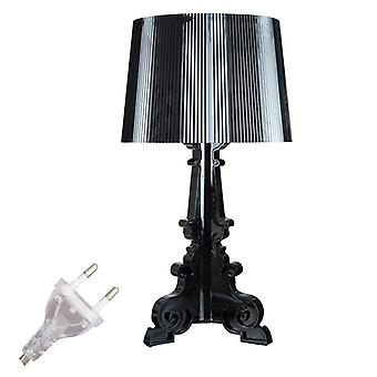 E27 Acryl lámpara de mesa para dormitorio, sala de estar, lámpara de escritorio estudio cama lectura libro