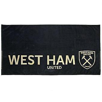 West Ham United Jacquard Towel