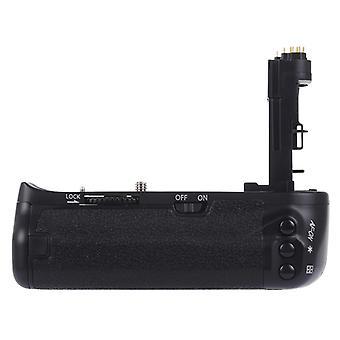 PULUZ Pystysuora kameran akun kahva Canon EOS 6D Digitaalinen SLR-kamera
