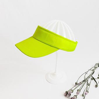 1pcs Sun Men/women Plain Adjustable Sport Visors Golf Tennis Cap