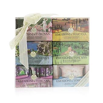 Emozioni In Toscana The Collection Gift Set (#gardino In Flore #campagna Dorata #macchia Odorosa #borghi E Monasteri #bo