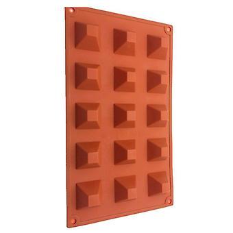 Mini pyramideformet silikoneform