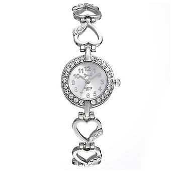 Luxury Bracelet Watch, Women Watches, Rose Gold, Diamond Ladies Clock