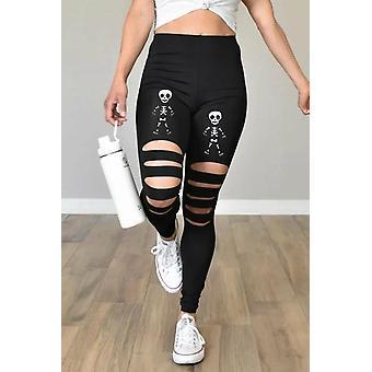 Womens Print Halloween Leggings