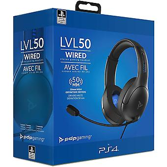 PDP LVL50 Wired Stereo Headset PS5 PS4